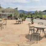 Greenflor-garden-center-pavimentazione-pietra-sinterizzata-L'Altra-Pietra-Colosseo-Quarzite-Gialla