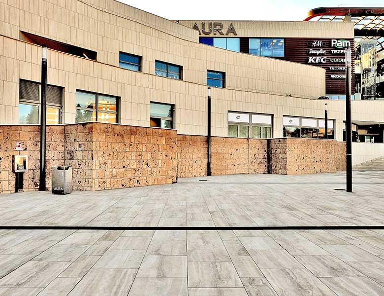 Pietra-Sinterizzata_Aura_Roma_shopping_center