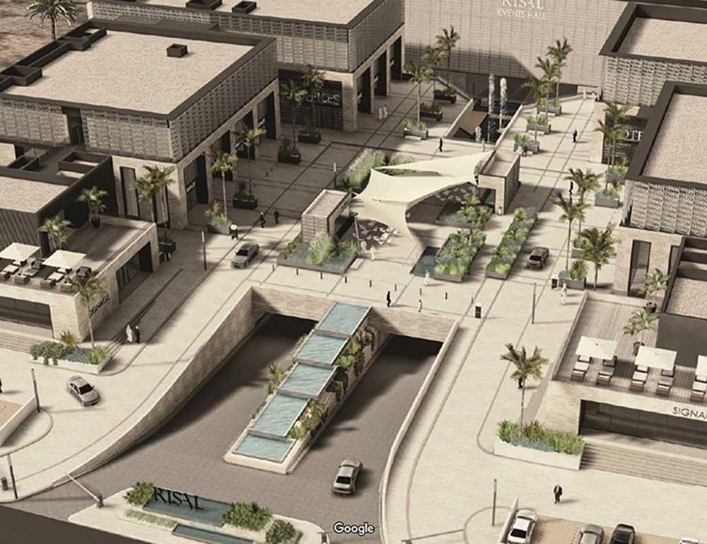 pietra sinterizzata The-Canopy-shopping-mall